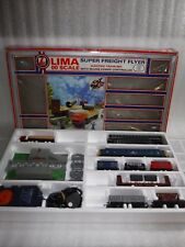 Vintage Lima Super Freight Flyer Train Set In Original Box , Model Railway