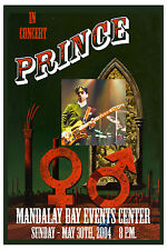 Prince : At Mandalay Bay Las Vegas Concert Poster 2004  12x18