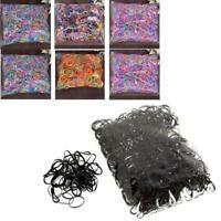 2000Pcs Mix Color Baby Girl's TPU Rubber Hair Bands Holders Elastics Tie Gum UP