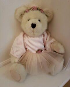 """A Boyd's Bears, 12 inch """"Aubrey Tippeetoes"""" Ballerina Bear"""