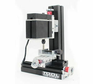 High Power Mini Metal Lathe DIY CNC Tool Mini Milling Machine Millier 12000rpm