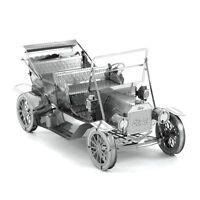 Fascinations Metal Earth 3D Laser Cut Steel Model Kit Ford 1908 Automobile