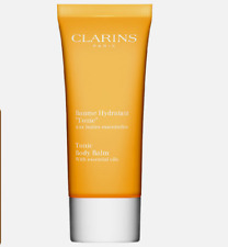 Clarins Tonic Body Balm with Essential Oil 3.5 oz - New Factory Sealed