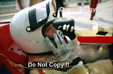 Jochen Rindt Gold Leaf Team Lotus Portrait German Grand Prix 1970 Photograph