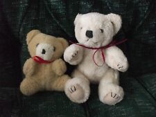 "2 little teddy bears, 1-7"" jointed Wangs int. and 1 5"" no tag"