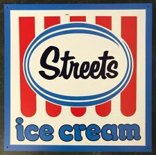 STREETS ICE CREAM Reproduction Vintage Style Australian Tin Sign Milk Bar NEW