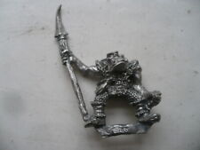 Citadel Warhammer classic 80s Orc Warrior with Polearm A oop