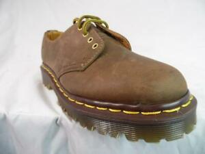 DR MARTENS UK 3 Brown oil Gaucho Crazy horse 4 EYE  OXFORDS 1561 MIE DISPLAY