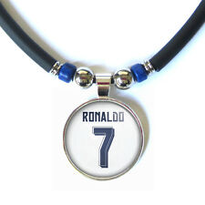 Cristiano Ronaldo #7 2015-16 jersey 3D glass pendant necklace