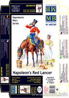 Master Box 3209 Napoleon's Red Lancer, Napoleonic Wars Serie Plastic Kit 1/32