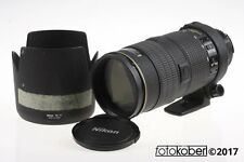NIKON AF-S 80-200mm f/2,8 ED D - SNr: 203041