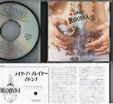 MADONNA Like A Prayer JAPAN CD 22P2-2650 w/PS+INSERT 1989 1st issue Free S&H/P&P