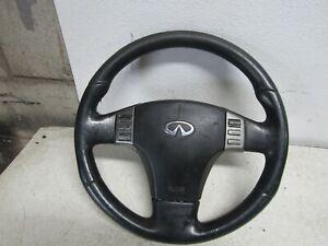 06 Infiniti  G35x G35 Steering Wheel