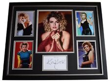 Kim Wilde SIGNED Framed Photo Autograph Huge display Music Memorabilia COA