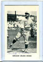 Autographed Signed Burleigh Grimes Postcard jhc