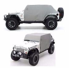 Smittybilt 1069 Water-Resistant Cab Cover for 07-16 Jeep Wrangler JKU 4-Door