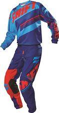 New 2016 SHIFT RACING adult motocross COMBO ASSAULT Pants 34, Jersey L BLUE