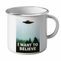 Mug Emaillé Métal i want to believe