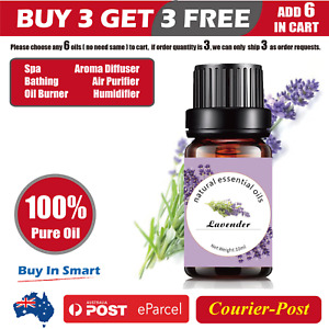 10ml Essential Oil 100% Pure & Natural Aromatherapy Diffuser Essential Oils AU