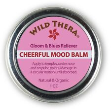 Natural Depression Relief. Mood Uplift Herbal Balm for Anxiety, Worry, Sadness e