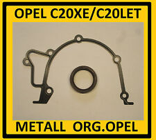 Opel C20XE, C20LET Dichtung Ölpumpe,Dichtring Kurbelwelle zahnriemenseite