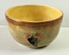 """222 Fifth Grappa Gold Tuscan Grapes Replacement 5 3/4"""" Soup/Salad Bowl"""