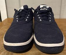 New listing Nike Golf Lunarlon Shoes Spikeless Size 9 Navy Blue