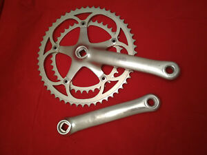Vintage CAMPAGNOLO CHORUS Crankset chainset first generation 170mm 53-39t