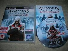 ASSASSIN`S CREED BROTHERHOOD - Rare Sony PS3 Game
