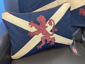 Scottish Flag / Lion Rampant / Saltire Cross Couch Cushion (12x18inches )
