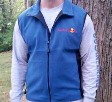 RED BULL Authentic MENS Vest Lightweight Windbreaker Fleece Jacket Guys Racing