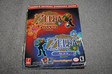 Nintendo Gameboy -  Zelda Oracle of Seasons and Ages Official Strategy Guide