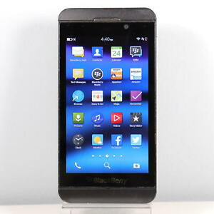 Blackberry Z10 (AT&T) Black 4G LTE Smartphone - Fast Shipping!