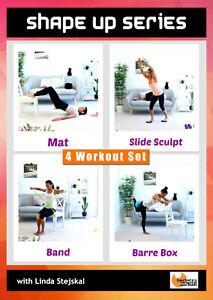 Cardio and Toning DVD - Barlates Body Blitz SHAPE UP SERIES 4 Workouts