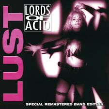 LORDS OF ACID - LUST (SPECIAL REMASTERED BAND EDTION)   CD NEUF
