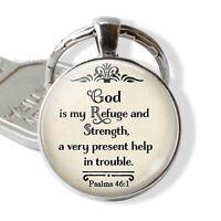 Bible Verse Keychains Alloy Gift Birthday Wedding Jewelry Accessories Friendship