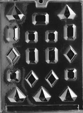 J025 Jewel Chocolate Candy Soap Mold with Instructions