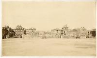 France, Paris, Château de Versailles  Vintage albumen print.  Tirage albuminé