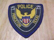 CR13) Princeton Texas Police Patch