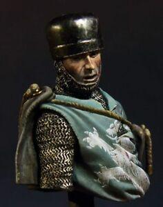 Pegaso 1/20 Knight of Antiochia MB-007 Unpainted Metal Mini Bust