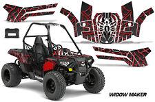 Polaris Sportsman ACE 150 ATV Graphic Kit Wrap Quad Accessories Decals WIDOW RED