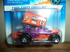 HOT WHEELS SLIDEOUT 1998 FIRST EDITIONS #2/48 NOC 5SP WHEEL 1:64 CARD VARIATION