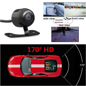 HD 170° Reverse Cam Mirror Image Parking Camera  Fit For Car Front / Rear / Side