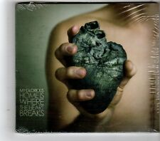 (HK234) My Glorious, Home Is Where The Heart Breaks - 2009 Sealed CD