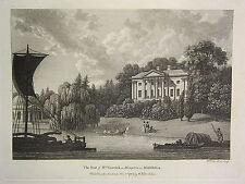1784 con fecha de impresión ~ la sede de la Sra. Garrick en Hampton Billy Idol