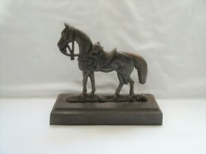 Vintage ? style reproduction ? cast iron horse doorstop