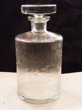 Carafe en Cristal de Baccarat Modèle Michel Angelo Décor dégagé à l'acide