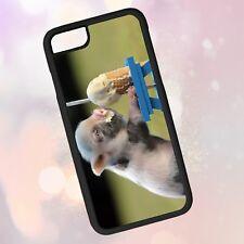 Animals ~ Pig, Piglet, Ice Cream, Funny ~ Phone Case (iPhone) (Galaxy) (Lg)