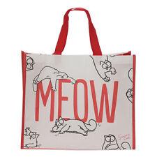 Puckator Simon's Cat MEOW Shopping Bag Reusable Eco Friendly Foldable Shopper