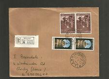 Italy - Registered Milano (Staz Centrale) 25 5 68